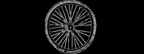 logo di Ciclostile, ciclofficina popolare del Centro Sociale Bruno di Trento