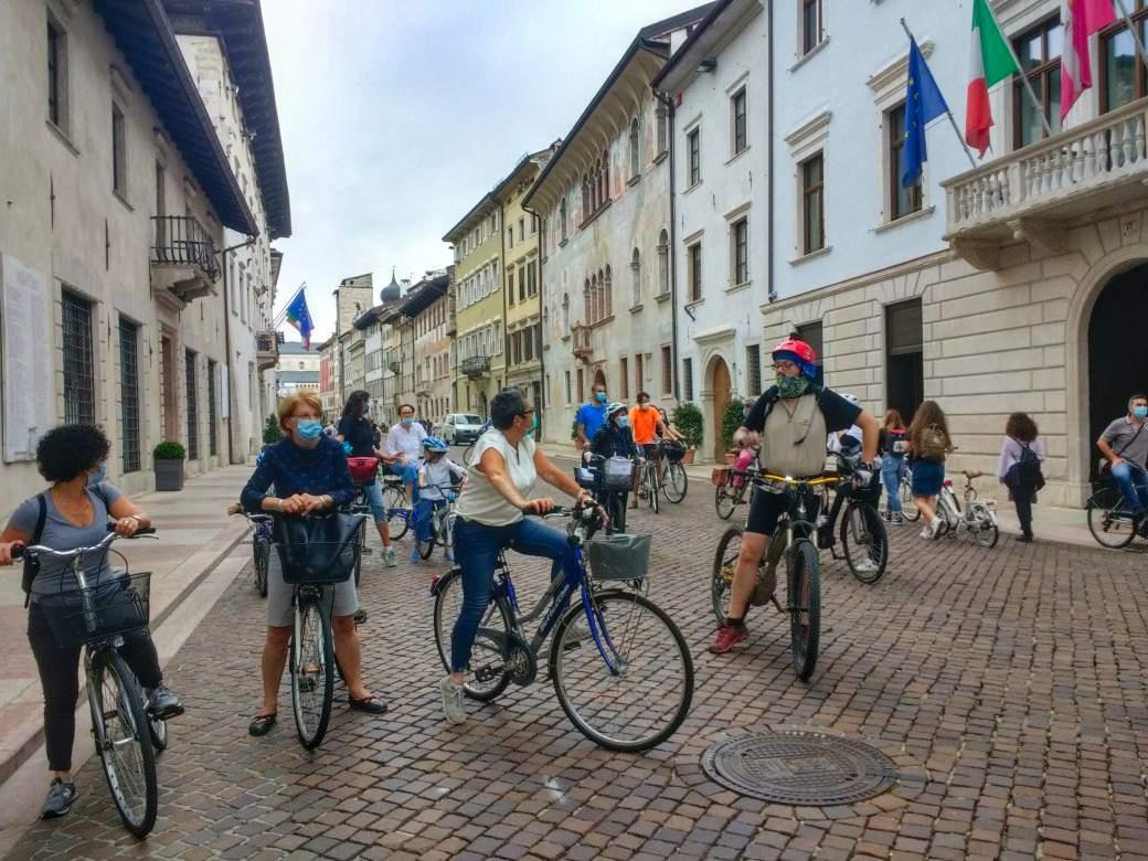 Critical Mass del 22 maggio 2020 a Trento