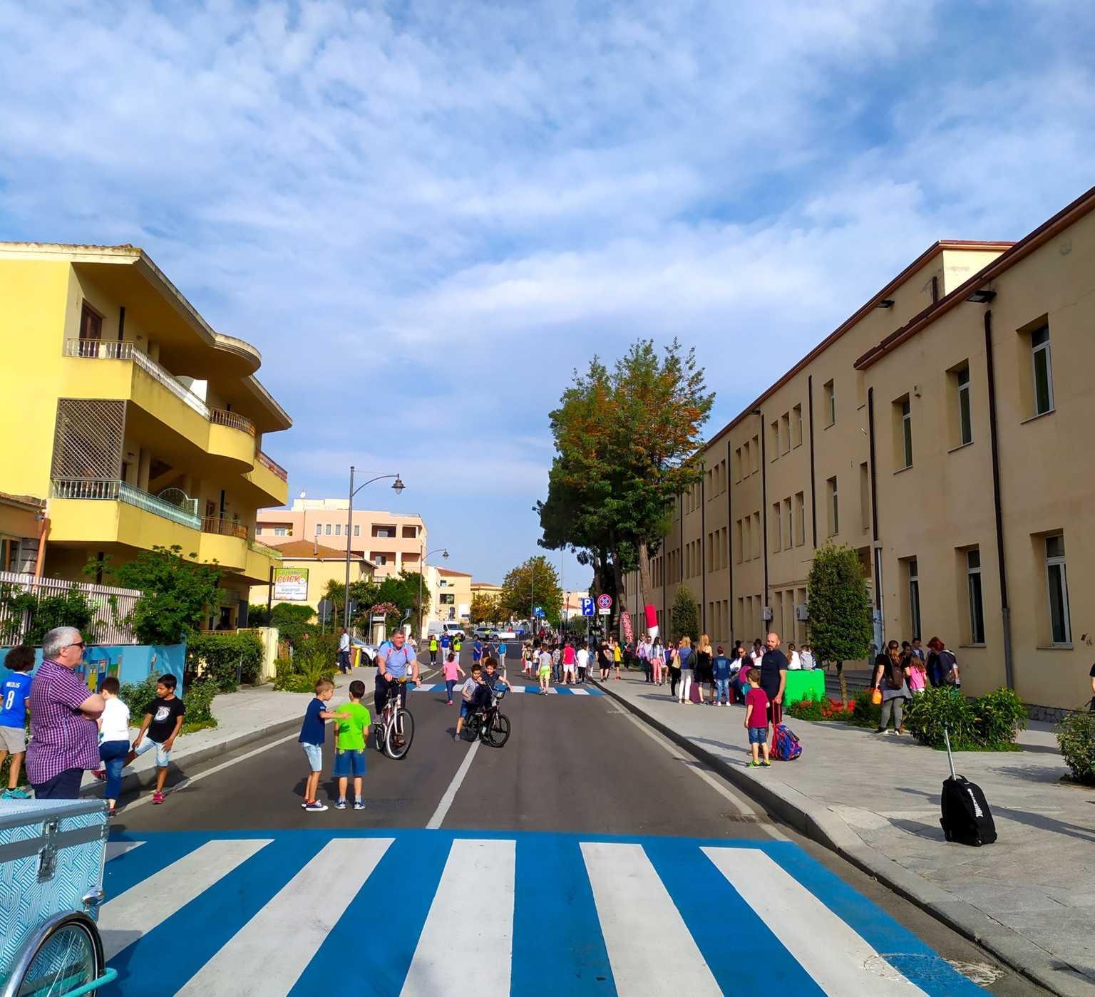 via Nanni Strada scolastica a Olbia