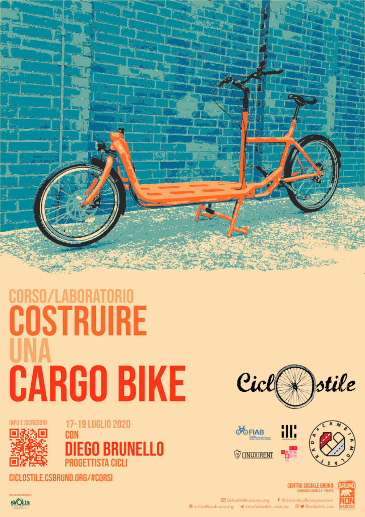 Poster del laboratorio cargo bike.