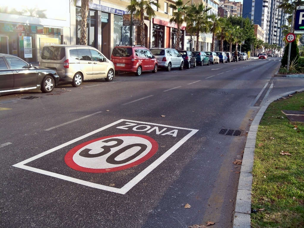 Zona 30 a Malaga